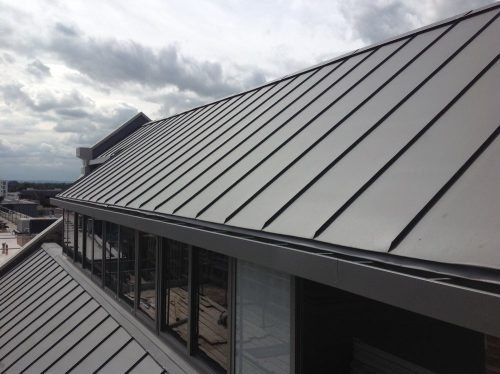 Zinc Roofing Cladding The Metal Roof Company