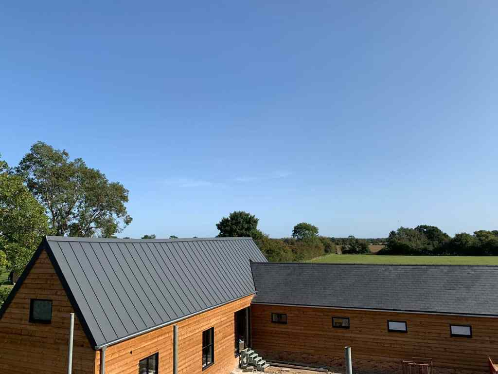 Rise Barn - Metal Roofing 1