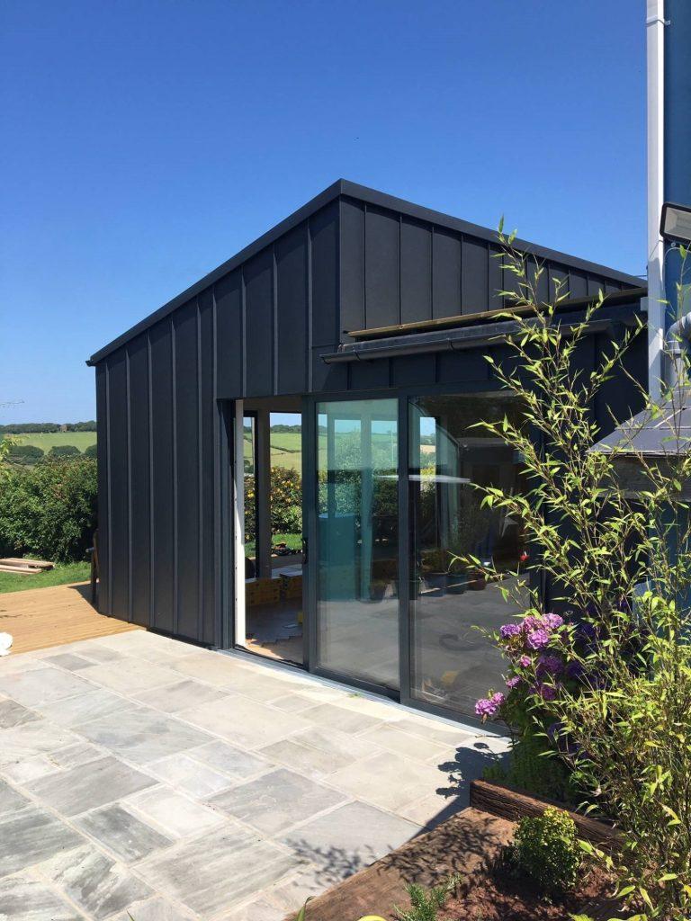 Zinc roofing 1